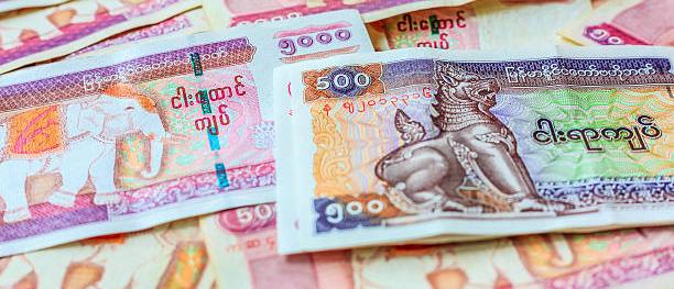 Myanmar kyat banknote, Myanmar money, Kyat Currency